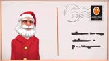 Present your Christmas/New year message or vend via Santa,from 10 different locations