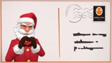 Animate a your Christmas wish by moving Santa on a Post Card