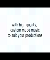 Compose and record original, customised music for your video, vlog or channel