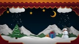 Make new year and christmas animation video