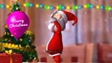 Make dancing Santa Claus Christmas greeting video