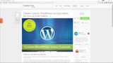 Create custom WordPress tutorial videos for you or your clients